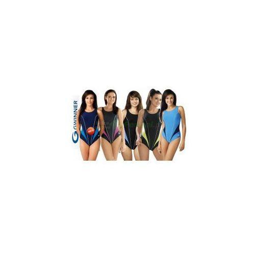 Gwinner Laila strój kąpielowy jednoczęściowy w 5 kolorach  + czepek | wysyłka 24h