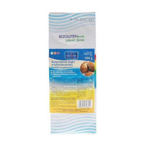 Koncentrat mąki wieloziarnistej 500g bezglutenowy BEZGLUTEN (5907459846621)