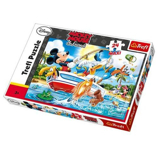 Puzzle 24 maxi Na rybach TREFL (5900511142211)
