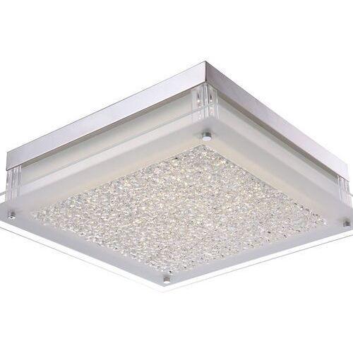 Kinkiet LAMPA ścienna VETTI C47111-3 Italux glamour OPRAWA kwadratowy plafon LED 20W 4000K biały, C47111-3