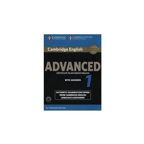 Cambridge English Advanced 1. Podręcznik z Kluczem + CD (9781107654969)