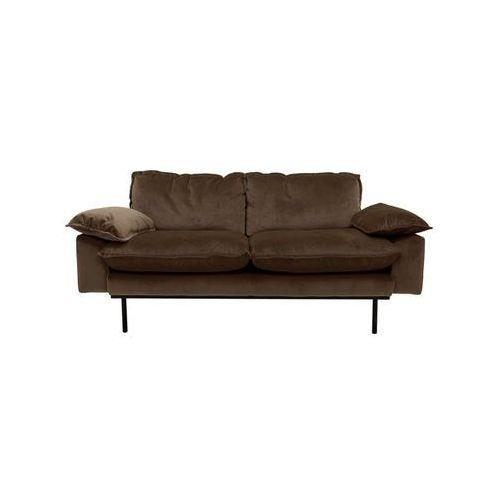 Hk living Sofa 2-osobowa tribeca - różne kolory piwny