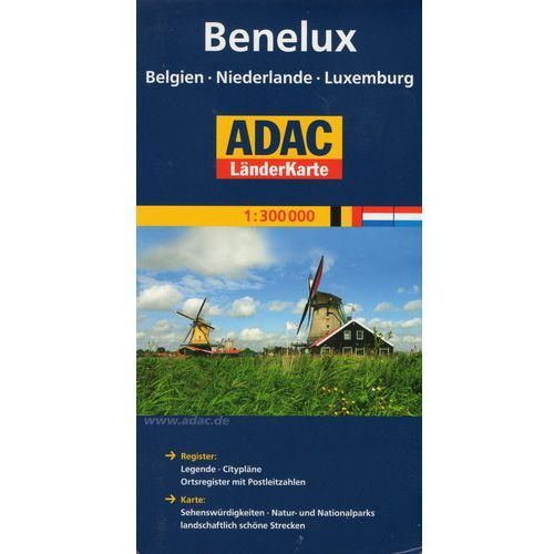 Benelux. ADAC LanderKarte 1:300 000 (2011)