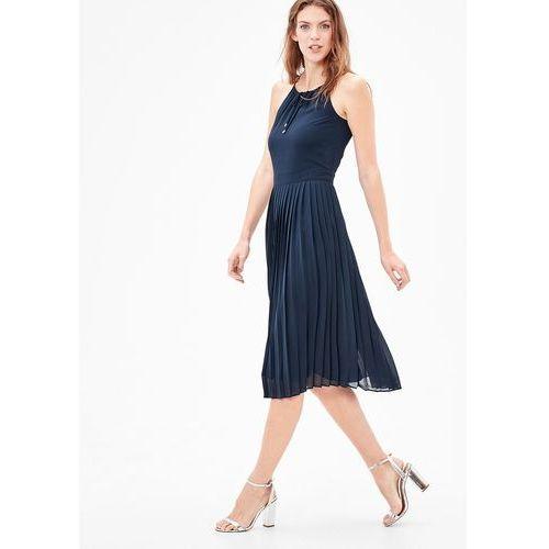 s.Oliver RED LABEL Sukienka letnia eclipse blue, w 8 rozmiarach