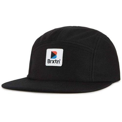 czapka z daszkiem BRIXTON - Stowell 5 Panel Cap Black (BLACK) rozmiar: OS, kolor czarny