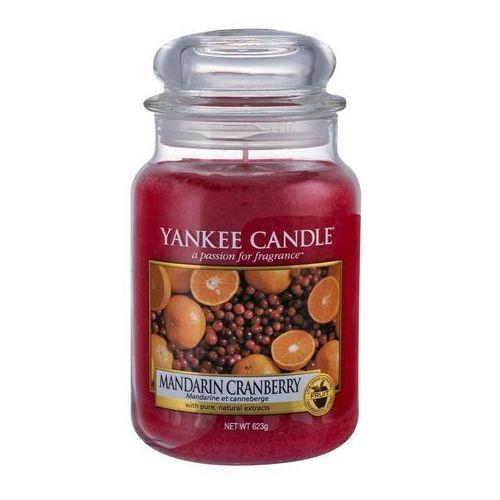 Yankee candle mandarin cranberry 623g duża świeca szybka wysyłka infolinia: 690-80-80-88 (5038580061864)