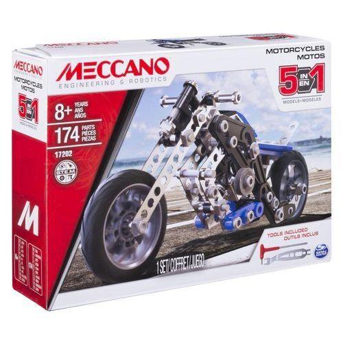 motocykl 5 w 1 marki Meccano - OKAZJE