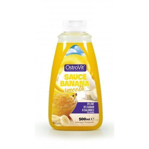 OstroVit Sauce Banana Smooth ZERO - 500ml