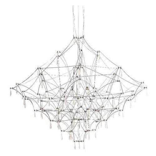King home Lampa wisząca constelation 120 - led, stal szczotkowana (5900168816701)