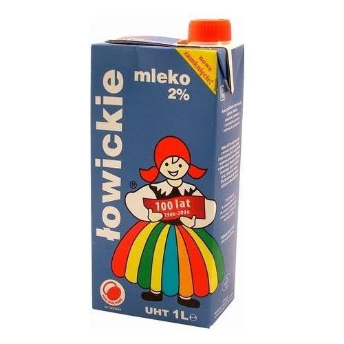 Łowicz Mleko łowickie 1l. 2%