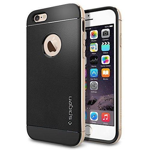 Etui SPIGEN do iPhone 6 Case Neo Hybrid Metal Series Szampańsko-Złoty (8809404213625)