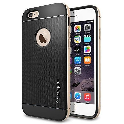 Spigen sgp Etui spigen do iphone 6 case neo hybrid metal series szampańsko-złoty (8809404213625)