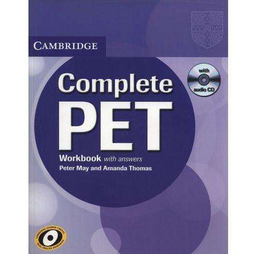 Complete PET Workbook (zeszyt ćwieczeń) with Answers with Audio CD (opr. miękka)
