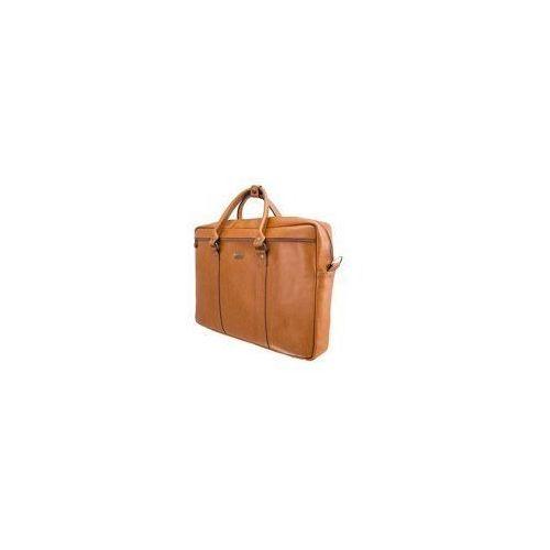 Skórzana torba na ramię laptopa  sl03 marki Solier