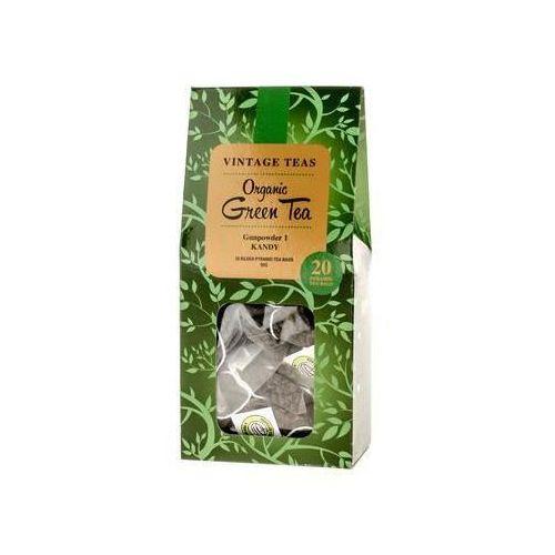 Vintage Teas Organic Green Tea - 20 Torebek 2,5g