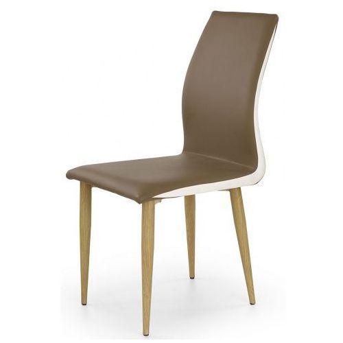 Profeos.eu Tapicerowane krzesło ardon - brązowe