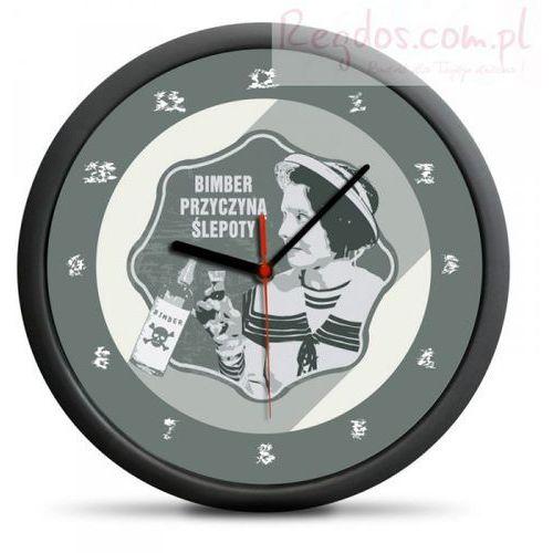 Zegar retro - bimber przyczyną ślepoty, marki Gadget factory