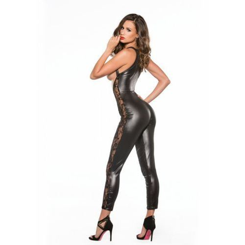 Allure Lace & wetlook catsuit