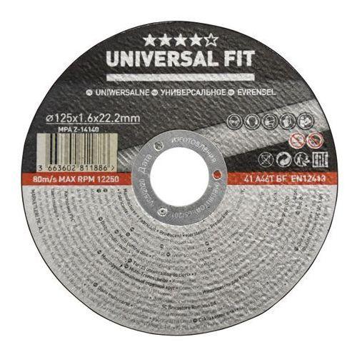 Tarcza do cięcia Universal multifunkcyjna 125 x 1 6 mm, TWAB1169