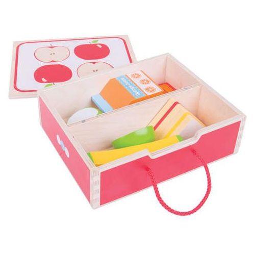 Lunch box - śniadanie do szkoły i przedszkola do zabawy dla dzieci, Bigjigs