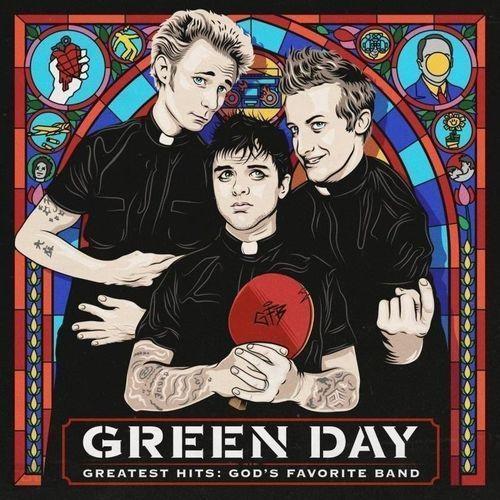 Greatest hits: god's favorite band - green day (płyta cd) marki Warner music