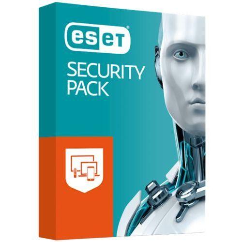 Eset security pack serial 1+1u - przedłużenie 12m