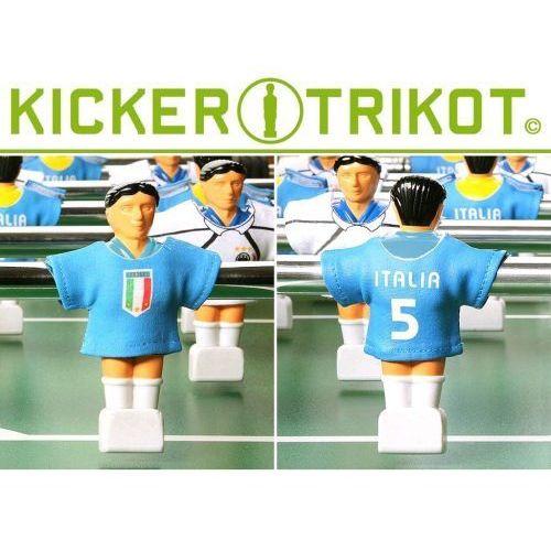 Komplet 11 koszulek reprezentacji państw dla postaci do piłkarzyków - Włochy