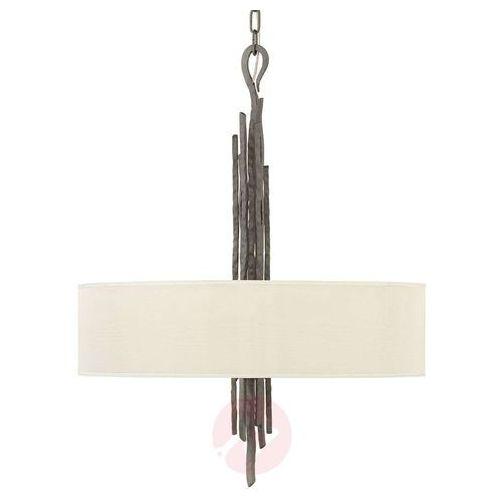 Hinkley Tekstylna lampa wisząca spyre, antracyt