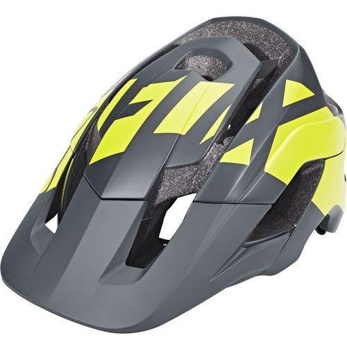 Fox metah thresh kask rowerowy żółty/czarny xl/2xl|59-64cm 2018 kaski rowerowe