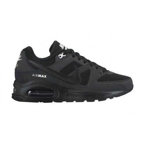 sportswear air max command flex tenisówki i trampki black/anthracite/white marki Nike