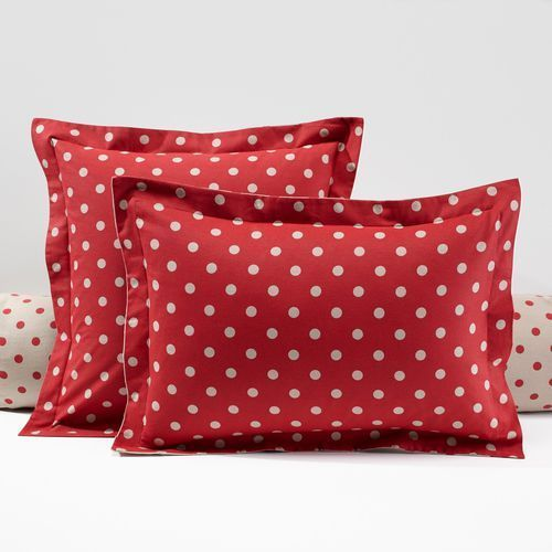 Flanelowa poszewka na poduszkę, z nadrukiem, clarisse marki La redoute interieurs