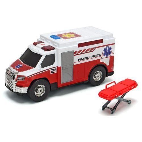 samochód wolnobieżny - ambulans as 30cm marki Dickie