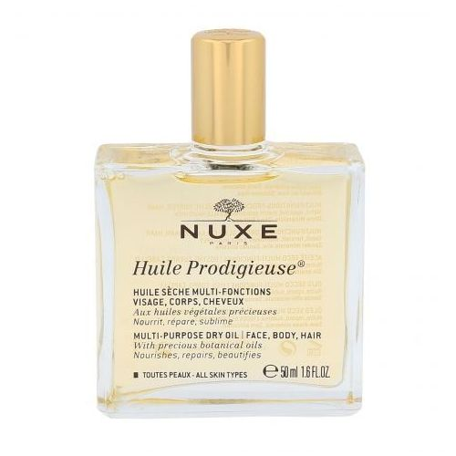 NUXE Huile Prodigieuse Multi Purpose Dry Oil Face, Body, Hair olejek do ciała 50 ml dla kobiet (3264680002014)