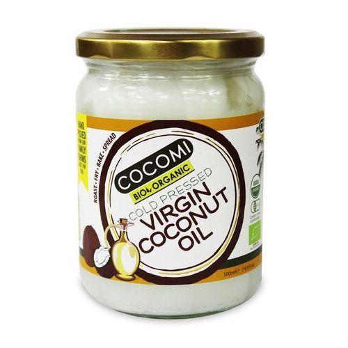 OKAZJA - Cocomi (wody kokosowe, oleje kokosowe, śmietanki) Olej kokosowy virgin bio 500 ml - cocomi (4792038035111)