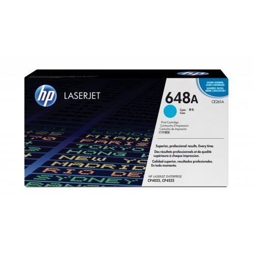 HP Inc. Toner CP4025/4525 11k Błękitny (Cyjan) CE261A