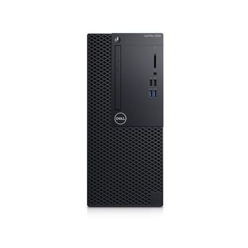 Dell optiplex 3060 mt i3-8100/4gb/256gb/hd/win10 pro/eng kbd+mouse/3y basic nbd onsite