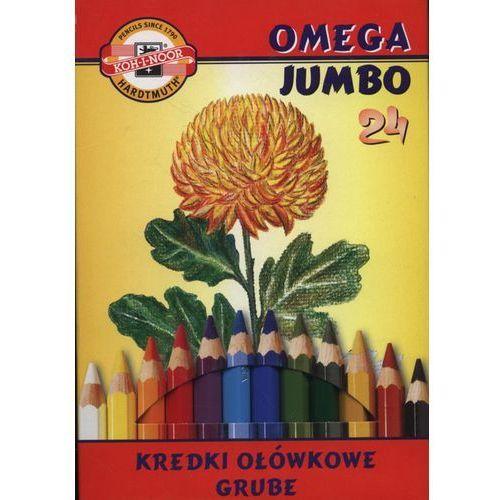 Koh-i-noor Kredki 24 kolory omega jumbo (8593539227182)