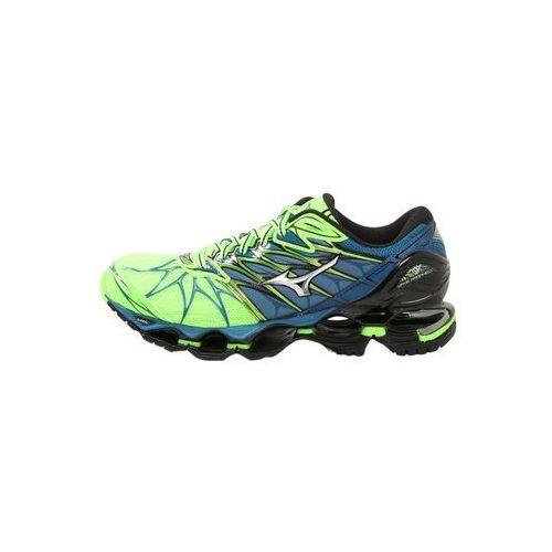 Mizuno WAVE PROPHECY 7 Obuwie do biegania treningowe green gecko/silver/blue sapphire (5054698411100)