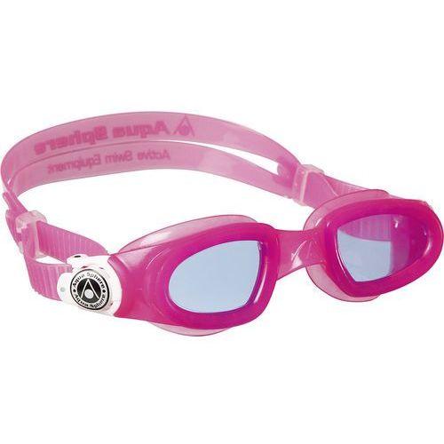 Aquasphere okulary do pływania moby kid ciemne szkła pink white marki Aqua sphere