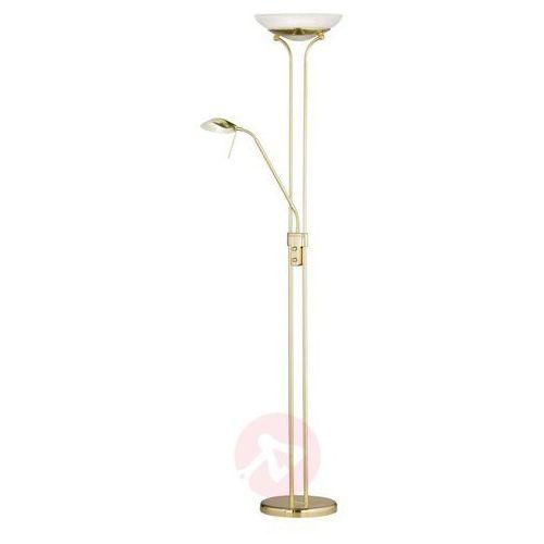 Honsel pool lampa stojąca led mosiądz, 2-punktowe - klasyczny - obszar wewnętrzny - pool - czas dostawy: od 6-10 dni roboczych marki Fischer & honsel