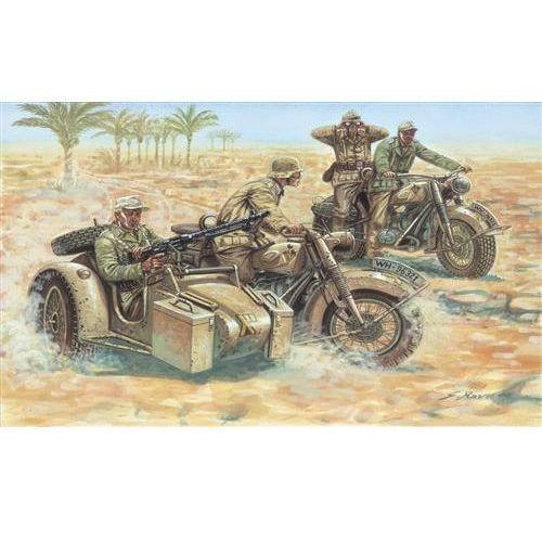 Niemieckie motocykle (II WŚ) Italeri 6121, 5_506094