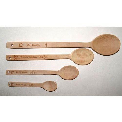 Komplet łyżek drewnianych od marki Mr bróg