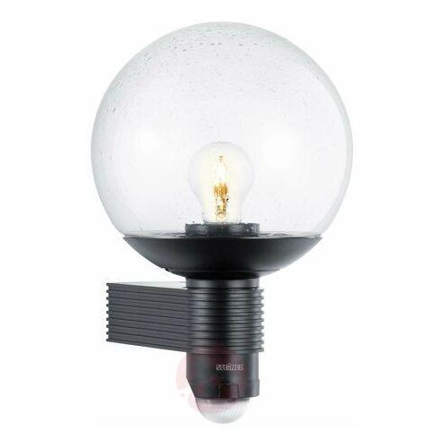 Steinel - oświetlenie Steinel l 400 c - lampa z czujnikiem ruchu i zmierzchu, czarna 611019 (4007841611019)