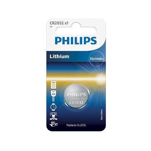 Philips Bateria pastylkowa cr2032/01b lithium- natychmiastowa wysyłka, ponad 4000 punktów odbioru! (8711500829894)