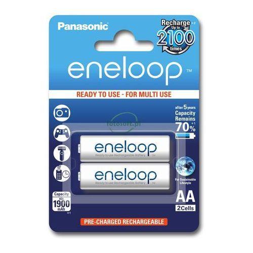 Panasonic Eneloop AA 1900 mAh 2100 cykli 2szt., 154007