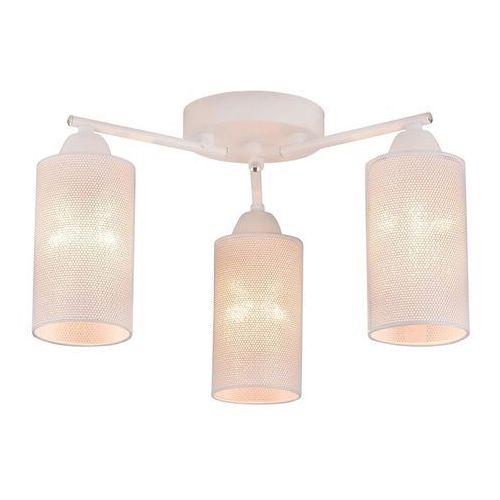 indira 33-57402 lampa sufitowa 3x40w e14 biały marki Candellux