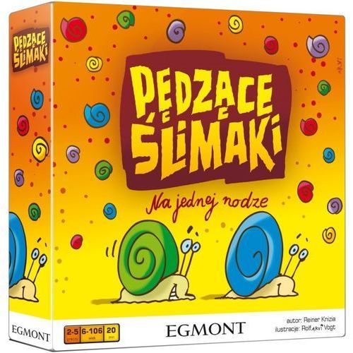 gra pędzące ślimaki marki Egmont