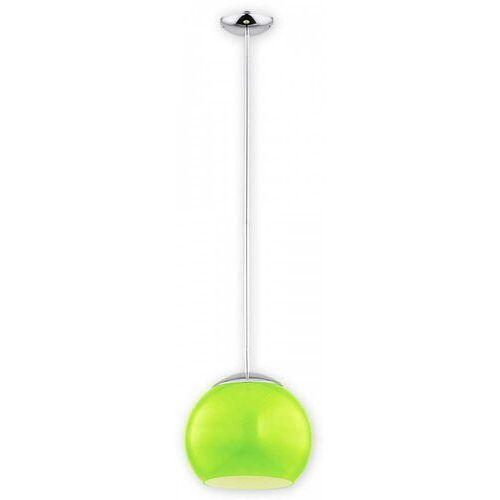 nolab o2841 w1 ch + zie [m] lampa wisząca zwis 1x60w e27 chrom+zielony marki Lemir