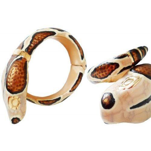 Mosiężna bransoletka br k10 - snake bracelet marki Pasotti