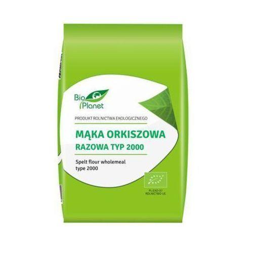 BIO PLANET 1kg Mąka orkiszowa razowa typ 2000 Bio